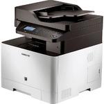 Samsung CLX-4195FN MFP / laserová barevná tiskárna / A4 / 9600x600dpi / skener / kopírka / fax / 256MB / USB + LAN (CLX-4195FN/SEE)