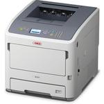 OKI B721dn / A4 / černobílá tiskárna / 47 stránek za minutu / LAN / USB (45487002)