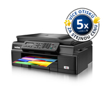 Brother MFC-J200 / Multifunkční inkoustová tiskárna / A4 / Kopírka / Skener / Fax / WiFi / USB / Černá / výprodej (MFCJ200YJ1)