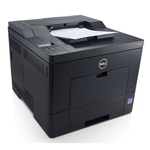 DELL C2660dn / barevná laserová tiskárna / 600x600dpi / Duplex / USB 2.0 / GLAN / černá / 3YNBD (C2660dn)