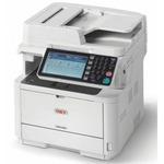 OKI MB492dn / multifunkční LED tiskarna / A4 / 40 str/min / 1200x1200 / Duplex / LCD / 512MB / LAN / USB (45762112)