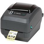 ZEBRA GK420t / Tiskárna čárových kódů / termotransfer / 203dpi + printserver / černý (GK42-102220-000)