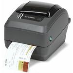 ZEBRA GX430t TT / Tiskárna čárových kódů / 300dpi / ZNET + řezačka (GX43-102422-000)
