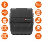 Datamax Apex 4 / pokladní / 112mm / Termotiskárna / 203dpi / USB / Bluetooth iOS / černý (78928U1-4)