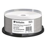 10ks VERBATIM Blu-Ray BD-R DL / Printable jewel box / 50GB / 6x / Pack (43736)