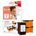 Peach PG-50 / PG-40 / PG-37 / alternativní cartridge / StarterPack 1+3 / 3x22 ml / černá (312478)