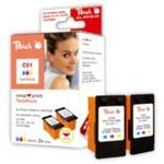 Peach CL-51 / CL-41 / CL-38 / alternativní cartridge bez tiskové hlavy / Twin-Pack / barevné (312414)