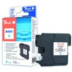 Peach LC-1100XL a LC-980XL alternativní cartridge pro Brother / DCP-385C, DCP-395CN / 7 ml / Modrá