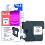 Peach LC-1100XL a LC-980XL alternativní cartridge pro Brother / DCP-385C, DCP-395CN / 7 ml / Fialov