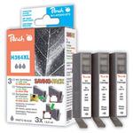 Peach 364XL alternativní cartridge/ HP Photosmart B8550, C5380 / 1+2x13 ml / Foto černá (314170)