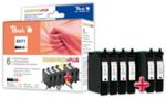 Peach T0711-T0714 alternativní cartridge / 2x7.4 , 3x5.5 ml/ Combi-Pack Plus (313311)