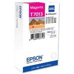 EPSON originální inkoustová kazeta T70134 / pro WorkForce 4000/4500 / 3400 str. / XXL / Červený (C13T70134010)