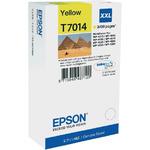 Epson originální inkoustová kazeta T70144 / pro WorkForce 4000/4500 / 3400 str. / XXL / Žlutá (C13T70144010)