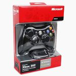 MICROSOFT XBOX 360 Wireless Common Controller for Windows, černá (black)