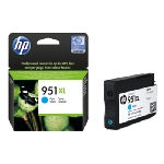 HP CN046AE Ink Cart No.951XL pro OJ 8100, 251dw, 276dw, 24ml, Cyan (CN046AE)