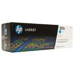 HP CE411A originální toner / LaserJet Pro 300, 400 / 2.600 stran / Azurový (CE411A)