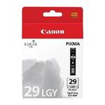 Canon PGI-29 LGY originální cartridge / Světle šedá (4872B001)
