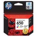 HP CZ102AE originální cartridge 650 / DeskJet 2515 / 200 stran / Barevná (CZ102AE)