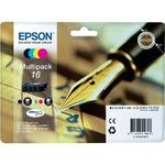 Epson T1626 originální cartridge / 5,4ml + 3x 3,1ml / WF-2010W, WF-2510WF / CMYK (C13T16264010)