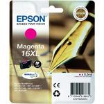Epson T1633 originální cartridge 16XL/ 6,5 ml / WF-2010W, WF-2510WF / Fialová (C13T16334010)