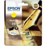Epson T1624 originální cartridge 16 / 3,1 ml / WF-2010W, WF-2510WF / Žlutá (C13T16244010)