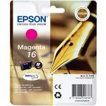 Epson T1623 originální cartridge 16 / 3,1 ml / WF-2010W, WF-2510WF / Fialová (C13T16234010)