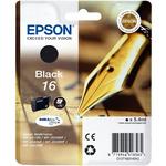 Epson T1621 originální cartridge 16 / 5,4 ml / WF-2010W, WF-2510WF / Černá (C13T16214010)