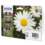Epson T1806 originální cartridge 18 / XP-405, 305 / barevná (CMYK) (C13T18064010)