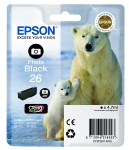 Epson T2611 originální cartridge / XP-700 / Photo Black (C13T26114010)
