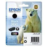 Epson T2621 originální cartridge XL / XP-700 / Černá (C13T26214010)