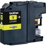 Brother LC-123 originální cartridge / MFC-J4410DW / 600 stran / Žlutá (LC123Y)