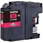 Brother LC-123 originální cartridge / MFC-J4410DW / 600 stran / Fialová (LC123M)