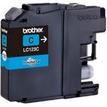 Brother LC-123 originální cartridge / MFC-J4410DW / 600 stran / Modrá (LC123C)