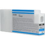 Epson originální cartridge T6422 / Stylus Pro 7900/9900 / 150ml / Cyan (C13T642200)