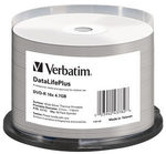 Verbatim DVD-R THERMAL Silver / 4,7 GB / 16x / Printable / 50ks cake (43782)