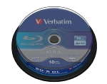 Verbatim BD-R 50GB 6x, DualLayer, spindle, 10ks (43746)