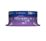 Verbatim DVD+R DL / 8,5 GB / 8x / Matt Silver / 25ks spindle (43757)