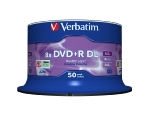 Verbatim DVD+R DL 8,5GB 8x, AZO, Printable, spindle, 50ks (43758)