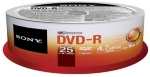 Sony médium DVD-R DMR-47SP / 25ks spindl (25DMR47SP)