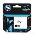 HP originální cartridge 651 / DeskJet 5575 / Černá (C2P10AE)