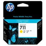 HP CZ132A originální cartridge 711 / DesignJet T120/T520 / 29 ml / žlutá (CZ132A)