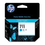 HP CZ130A originální cartridge 711 / DesignJet T120/T520 / 29 ml / modrá (CZ130A)