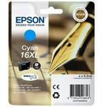 Epson T1632402 originální cartridge 16XL DURABrite Ultra / 6,5 ml / WF-2010W, WF-2510WF / Modrá (C13T16324020)