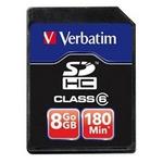 Verbatim 16GB SDHC / paměťová karta / zápis 10 MB/s / zápis 10 MB/s / Class 10 (43962)