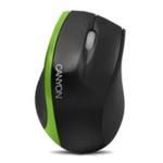 CANYON myš optická / USB/ 800 DPI / Černo-zelená (CNR-MSO01NG)