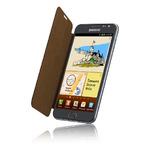 Samsung pouzdro pro Galaxy Note i9220 / hnědé (EFC-1E1CDECSTD)