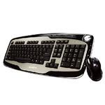 GIGABYTE SET KM7600 / Klávesnice+myš / USB / CZ / Černo-stříbrná (GK-KM7600)