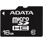 ADATA Micro SDHC karta 16GB Class 10 + adaptér (AUSDH16GCL10-RA1)