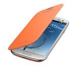 Flipový kryt Samsung Galaxy S III (i9300)/ Flip Cover / Oranžová (EFC-1G6FOECSTD)