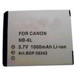 Akumulátor Doerr DDP-CNB6L D86 / Canon NB-6L / 3.7V / 1000mAh / Pro Canon Ixus 85 IS (DD980007)